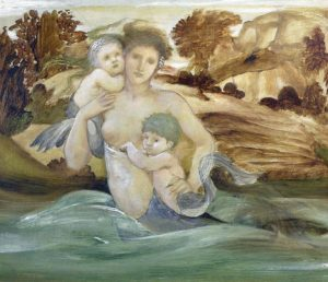 ebj mermaid with her offspring